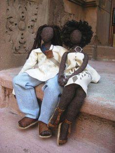 Wonderful Dolls! African American couple