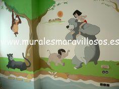 murales infantiles pintados en toda espaa sobre paredes lisas o en gotel muchas ideas y fotos en