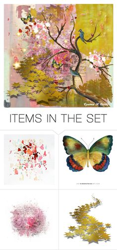 """""""Untitled #3176"""" by cynthiahcurtis ❤ liked on Polyvore featuring art"""