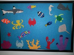 Children At Play: Under the Sea Felt Fish Tank