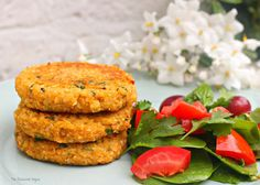 I love this combination so much, 2 healthy nutritious ingredients brought together with spices and herbs to create a light and delicious fritter. I say fritter, but these are made a little thicker ...