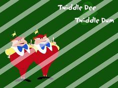 Alice in Wonderland Edible Cake Topper Frosting 1/4 Sheet Image #22