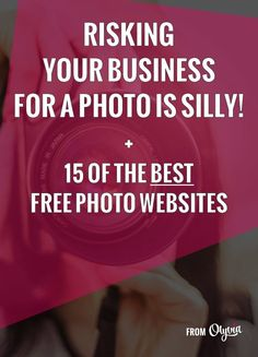 Grabbing pretty but copyrighted images for your next blog post can cost you your business. Here are the best websites for beautiful, legal, AND 100% free photos.