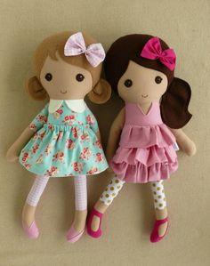 Resultado de imagen para muñecas de trapo modernas