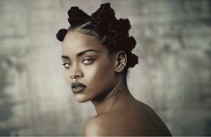 Rihanna already hinted of her new look, but i-D Mag's cover confirms what's on the horizon for Riri's navy. Description from pulseradiolake.com. I searched for this on bing.com/images