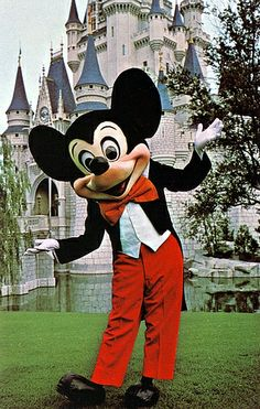 To have my picture taken with Mickey at Disney World, Orlando, Florida