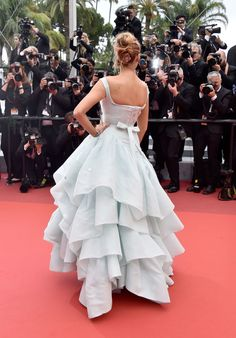 Please Admire Blake Lively's Cinderella Dress from Every Angle