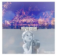 """Disney 30 day challenge: Day 4~ """"and at last I see the light!"""" Fave Disney song, Tangled"""