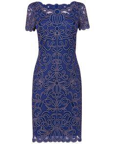 Taya Embroidered Dress