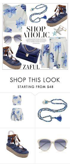 """Zaful"" by teoecar ❤ liked on Polyvore featuring Chloé, Maryam Keyhani and zaful"