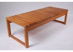Vintage Pine Slate Bench, 1960s for sale at Pamono