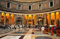 Pantheon Inside - Johnson-Miles photo