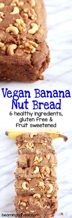 Vegan Banana Nut Bread