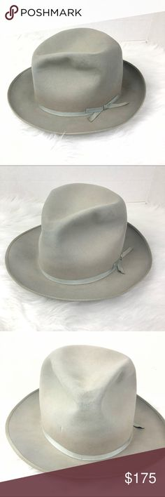 "Royal Stetson VINTAGE 1951 ""open road"" fedora hat Royal Stetson Stratoliner  ""Open Road 649735e8cc20"