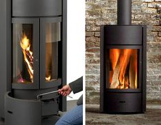 With the lazy, hazy days of summer behind us, Stuv introduces the contemporary wood burning stoves
