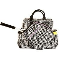 Ame Lulu Las Tennis Tour Bags Poppy Black Purple