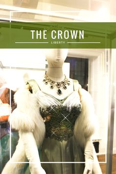 """London's famous department store Liberty hosted an exhibition featuring costumes from one of Netflix's newest releases, """"The Crown"""" >>> read more on nooneartist.wordpress.com >>> fashion news"""