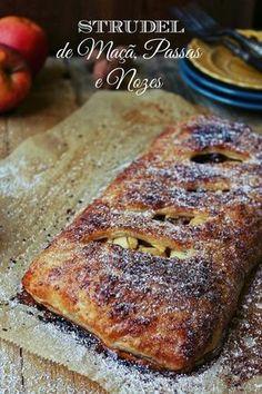 Hoje para jantar ...: Strudel de maçã, noz e vinho do Porto