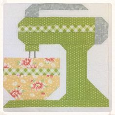 Kitchen Mixer Quilt Class at Hollyhill Quilt Shoppe & Mercantile! Saturday, June 11 2016 from 9:30am-3:30pm. $50 per person. Class Discount evening on Wed. June 1, 2016. Save 20% on class supplies!
