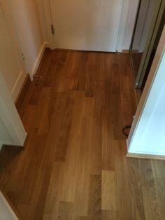 Pent med ny #parkett på gulvet.