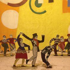 Skating Rink 1922 / Fernand Léger for Ballets Suedois /Dansmuseet, Stockholm