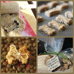 A Dog's Life Is Ruff: Spent Grain Dog Treats. #recipe