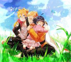 Naruto loves his kids