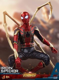 Hot Toys MMS482 Avengers: Infinity War Iron Spider Coming