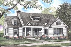 House Plan 8318-00044 - Traditional Plan: 2,148 Square Feet, 4 Bedrooms, 3 Bathrooms