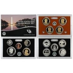 2013 S 14pc Silver Proof Set