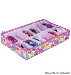 Under Bed Shoe Organizer Item # 515-914 / Price: $14.99  Pretty organized. Has 12 compartments & zips to close!! Get it now at: http://abagtas.avonrepresentative.com/