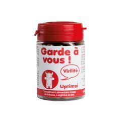 Complément alimentaire virilité à base de Tribulus, reconnu pour améliorer l'érection, L-arginine, ginseng, et zinc. Vous soutiendra au meilleur moment