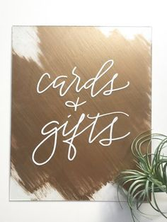 wedding cards and gifts gold acrylic plexi plexiglass