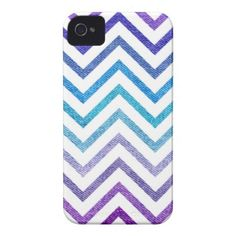 Denim Pastel Chevron White Case-Mate iPhone 4 Case by OrganicSaturation #iphone #iphonecase #iphone4 #chevron #zigzag #pattern #iphonecover #fauxdenim #denim #pastel