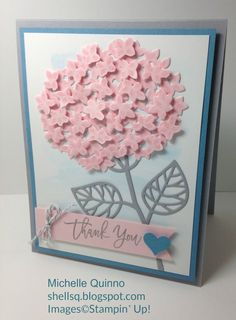 I love the soft and pretty color combination by the talented Lynn Hoyt! This is for the Pals Paper Arts color challenge. I thin...