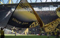 Spielszene aus der Partie Borussia Dortmund gegen Hertha BSC Berlin.                                                                                                                                                      Mehr
