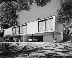 Casa Habitación 1959-1961  Col. San Ángel Inn. México, D.F.  Arq. Augusto Álvarez