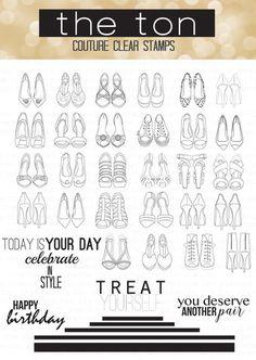 Shoe Wardrobe Outline – The Ton