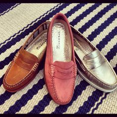 Sperry loafers! WANT!