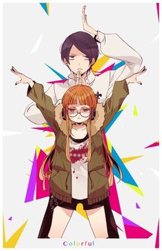 Futaba is like a lil sister to Inari/Yusuke.