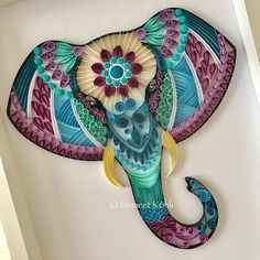 23 Easy Paper Quilling Ideas For Kids Arte Quilling, Paper Quilling Patterns, Quilled Paper Art, Quilling Paper Craft, Paper Beads, Paper Crafts, Quilling Images, Quilling Comb, Paper Quilling For Beginners