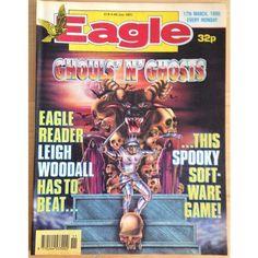 Eagle 17 March 1990 UK Paper Comic Sci Fi