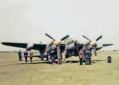 De Havilland Mosquito PR Mk XVI: Similar to PR Mk IX, but with pressurised cockpit. New Aircraft, Aircraft Photos, Military Aircraft, De Havilland Mosquito, Russian Air Force, Ww2 Planes, Royal Air Force, Fighter Jets, Fighter Aircraft