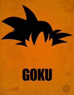 Goku Minimalist Poster by A-B-Original on DeviantArt