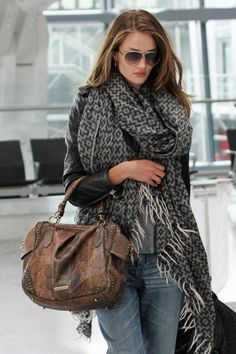 the scarf. <3 Fashion Style