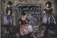 [The Castle of Otranto One Piece] Post Card from Enchantlic Enchantilly - Lolita Desu