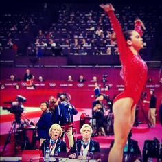McKayla Maroney's Perfect Vault, wowing the judges :)