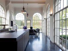 Obumex   Kitchen Island   Windows   Traditional Kitchen   Interior