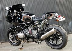An other amazing Ritmo Sereno creation, possibly the perfect BMW bike!