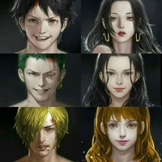 They all look rather young but I love Sanji he looks awesome